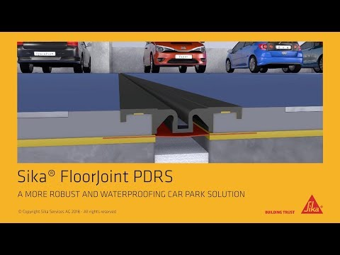 Sika® FloorJoint PDRS: A More Robust and Waterproofing Car Park Solution