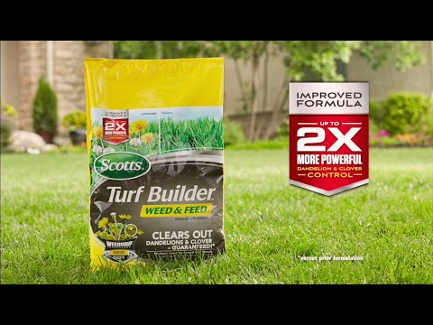 How To Feed Lawns And Kill Weeds To The Root In One Easy Step By Scotts