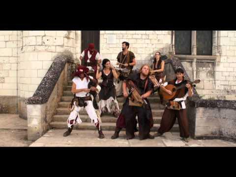 "Medieval music .Les Compagnons du Gras Jambon. Middle ages.""Heiduckentanz"""