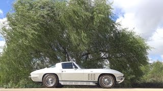 1966 Chevrolet Corvette Coupe tour & C2 Sting Ray road test in 4K
