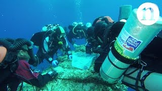 Skeleton uncovered at ancient Antikythera shipwreck