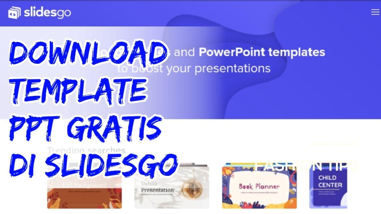 Cara Download Template Powerpoint Gratis Di Situs Slidesgo Buat Slide Presentasi Keren Youtube