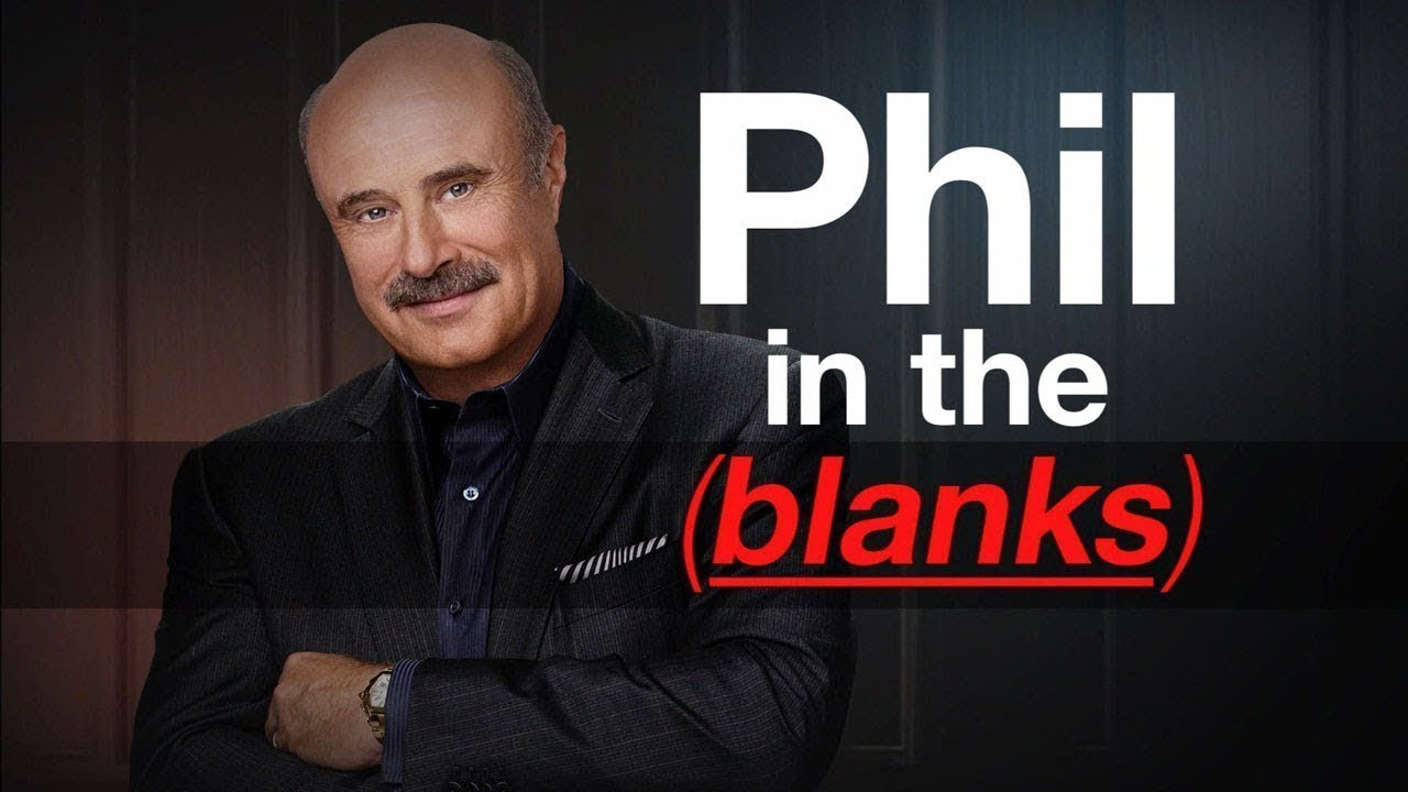 Launching Today! 'Phil in the Blanks' The Podcast image