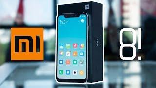 Xiaomi MI 8 Unboxing & First Impression[4K]