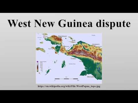 West New Guinea dispute