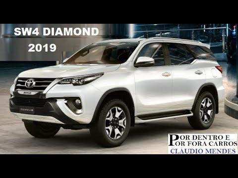TOYOTA SW4 DIAMOND 2019 COM MUITOS DETALHES - YouTube