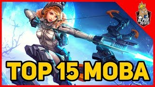 Top 15 MOBA Games for Android & IOS in 2019