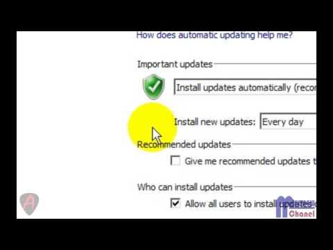 Cara Mematikan Update Software Otomatis di Windows 7 - YouTube