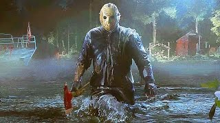 Friday the 13th The Game - New Gameplay Jason Trailer 4K (PS4 Xbox One PC)