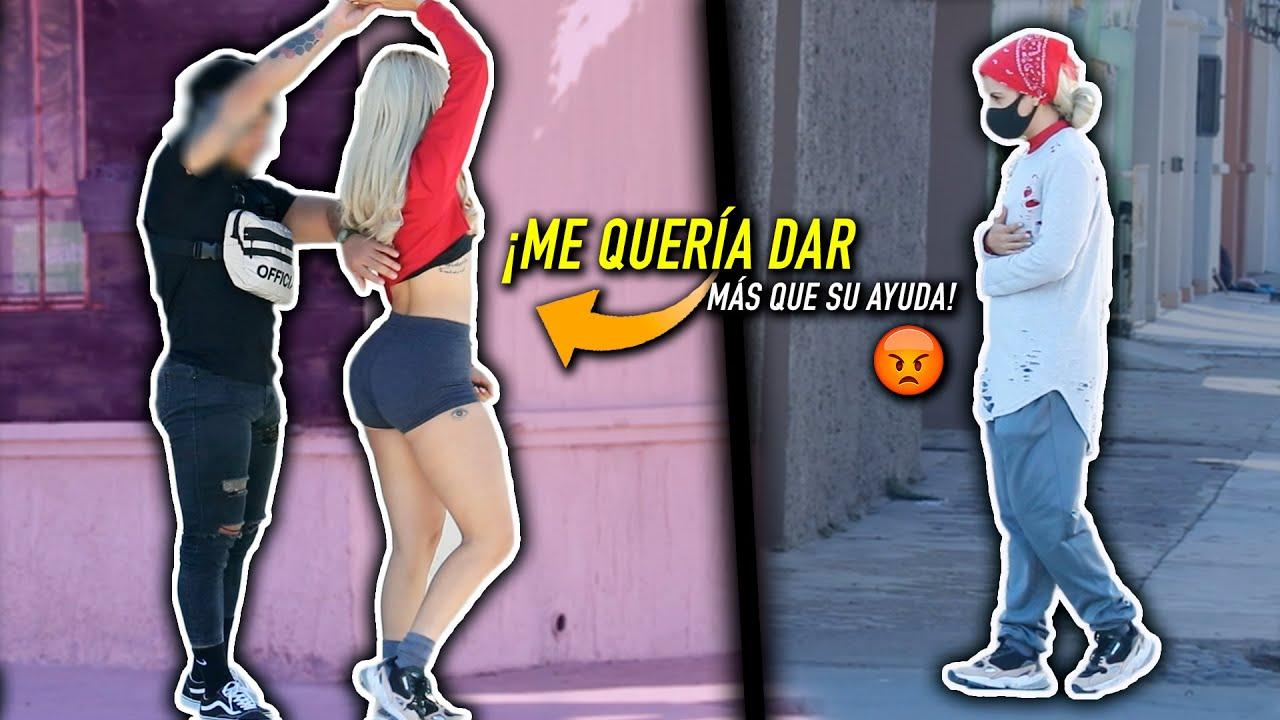 VAGABUNDO VS CHICA FIT - ¡ME OFRECIÓ DE MÁS! | Amy Diaz