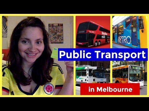 Melbourne Public Transport | Living in Melbourne Ep 01 | Sub English/Spanish