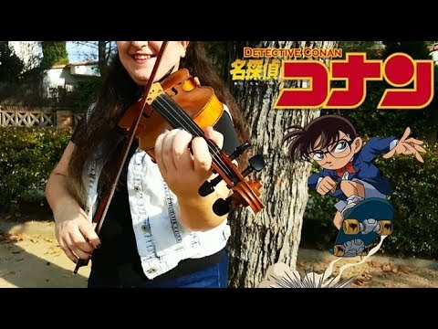 VIOLIN Cover ~ Detective Conan - Step by step (ENDING)