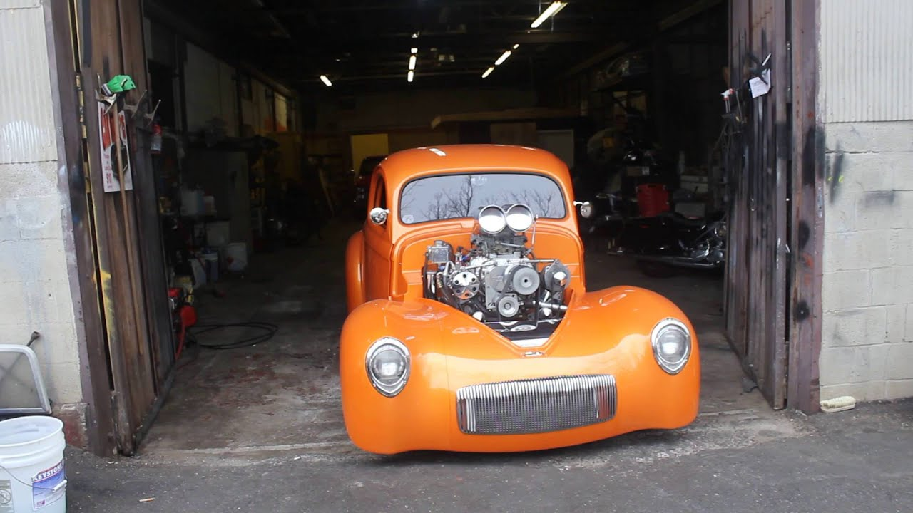 1941 Willys 454 Blown 871 w/2 750 For sale on EBAY- - YouTube