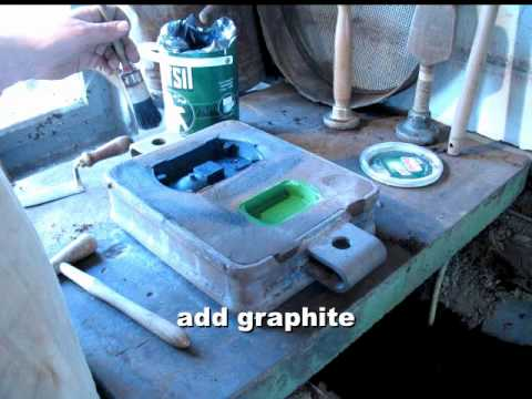 Foundry: Green sand moulding with natural sand - by Dr. Bastian Asmus