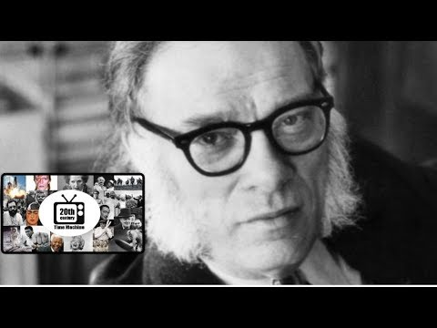 Isaac Asimov on Science Fiction, The Three Laws of Robotics and Earth's Future (1975)