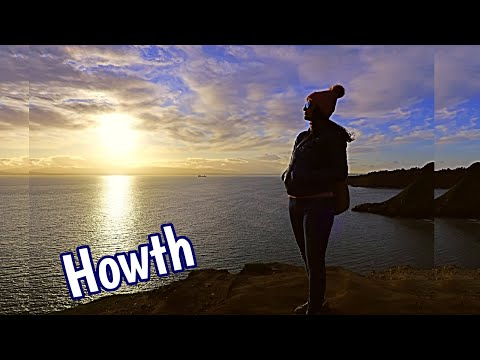 Howth, Ireland / Street And Fish Market - Howth Hill