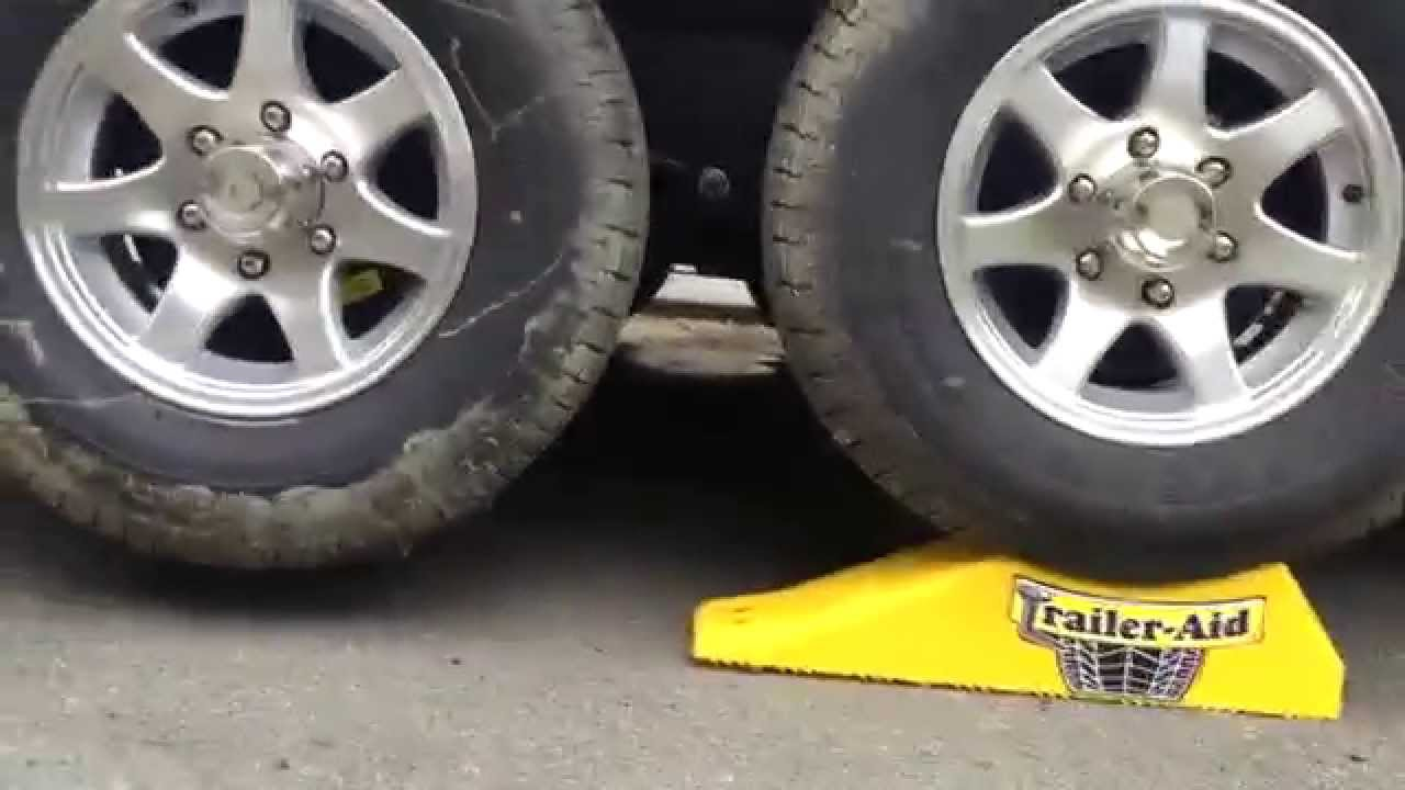 Product Review Trailer Aid Tandem Tire Changing Ramp Youtube