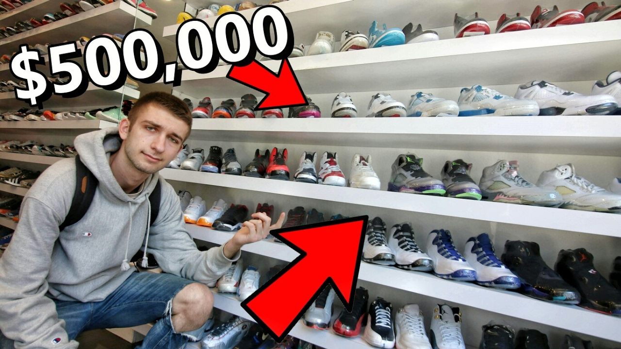 super popular b89e7 4f087 INSANE SNEAKER CONSIGNMENT SHOP! ALL OF MY FAVORITE SNEAKERS!