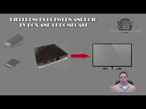 DIFFERENCES BETWEEN ANDROID TV BOX AND CHROMECAST