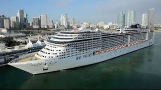 The best CRUISE MSC Divina March 15, 2015 from port Miami USA