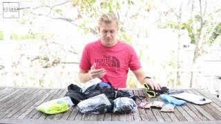 Ultra-Trail Australia Pace Athletic 22 - Mandatory Gear with Sydney Trail runner