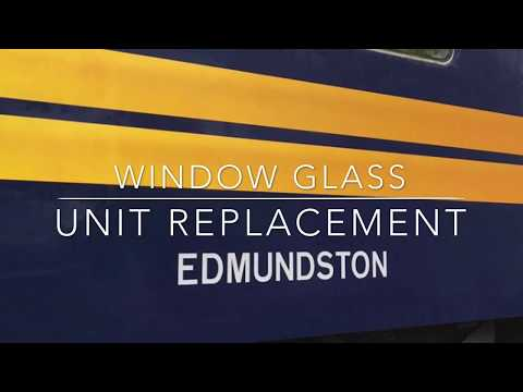 RPDX 1115 Edmundson Window Frame Glass Replacement