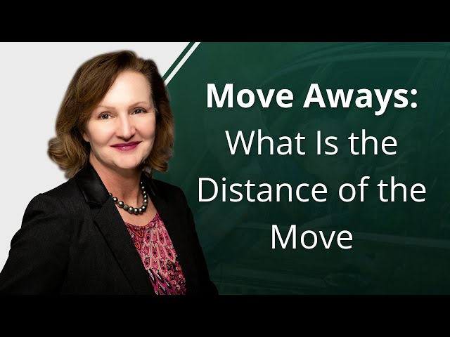 Move Aways: What Is the Distance of the Move
