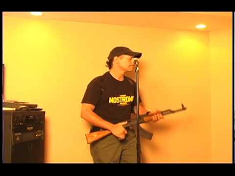 Krazy Gun Guy Karaoke Hello