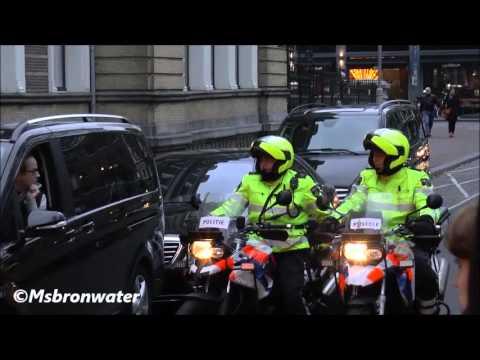 police escort couple amsterdam