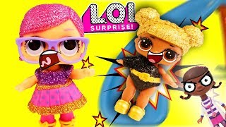 LOL Surprise Dolls Playground Adventure Featuring Queen Bee and Doc McStuffins!