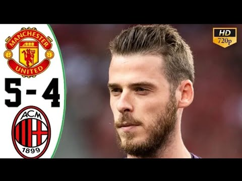 Manchester United 2-2 AC Milan Penalties (5-4) || English Commentary || ICC 2019|| 3/8/19