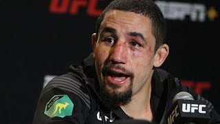 Robert Whittaker reacts to Jake Paul beating Ben Askren