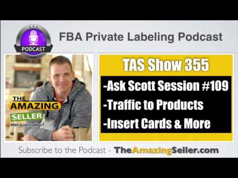 Traffic To Products – Reducing Returns – Insert Cards & Tos Rules - TAS 355 - The Amazing Seller