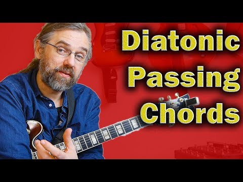 How To Use Diatonic Passing Chords With Easy Practical Examples
