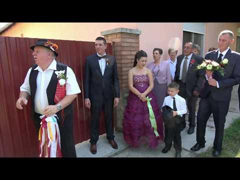 Hajni és Jancsi esküvője - Bóka Videó