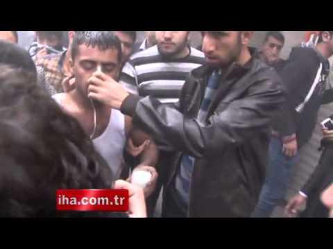 Gaziantep'te kapalı çarşıda yangın çıktı, çok sayıda vatandaş mahsur kaldı