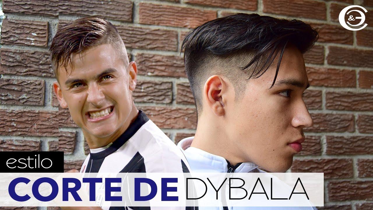 Dybala corte de cabello y peinado dybala haircut and - Cortes de peinado ...