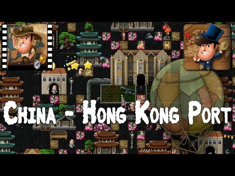 [~Around the World~] #4 China - Hong Kong Port - Diggy's Adventure
