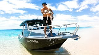WAKING UP IN PARADISE Camping On The New Boat (Day 2) - Ep 134