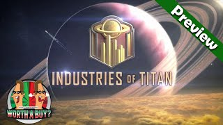 Industries of Titan Preview - New City Builder