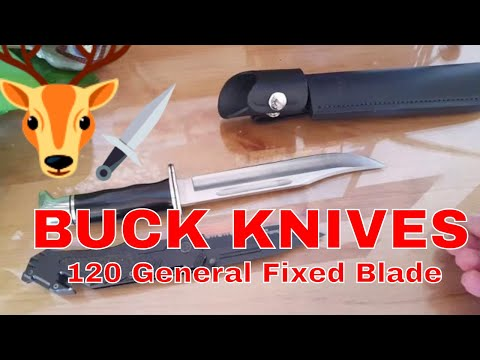 Buck classics...119 and the 120 two great knives! from YouTube · Duration:  4 minutes 21 seconds