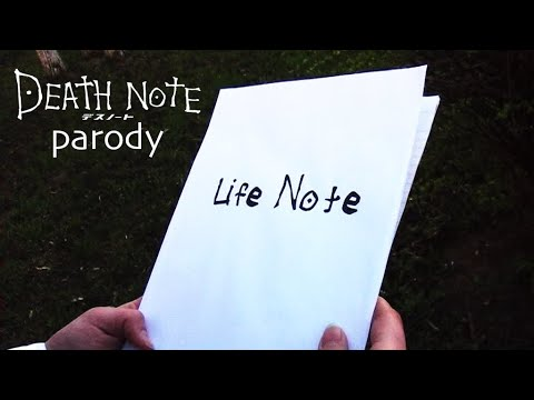 Life Note (Death Note parody)
