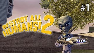 Twitch Livestream | Destroy All Humans 2 100% Part 1 [PS4/PS2]