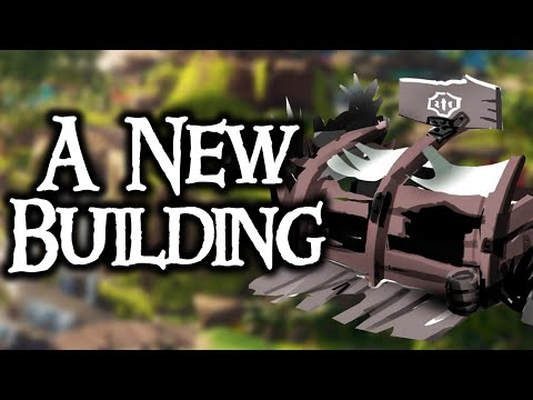 WHAT IS THE NEW BUILDING? // SEA OF THIEVES - Debris at outposts could evolve into this.