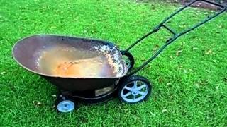 Homemade Wheel Barrow