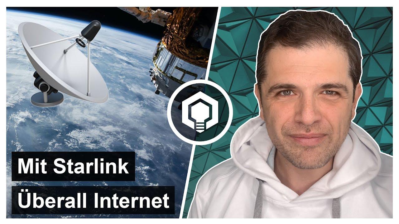 Starlink schnelles Internet überall in Deutschland