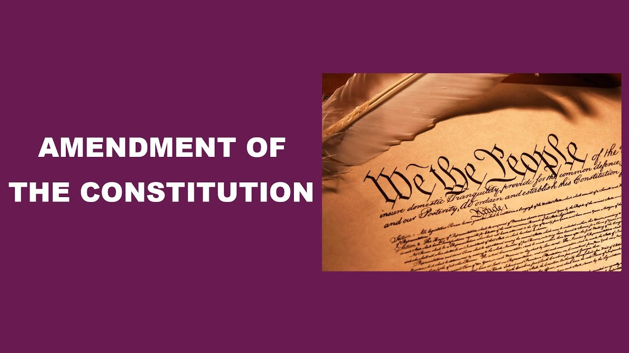 Download Constitutional Amendments   Indian Polity   Major AmendmentsProcedure of the Constitution