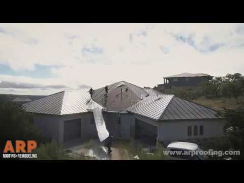 Standing Seam Metal Roof Replacement // ARP Roofing & Remodeling