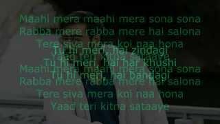 Tere Bina Tere Bina dil tezz karaoke free   YouTube