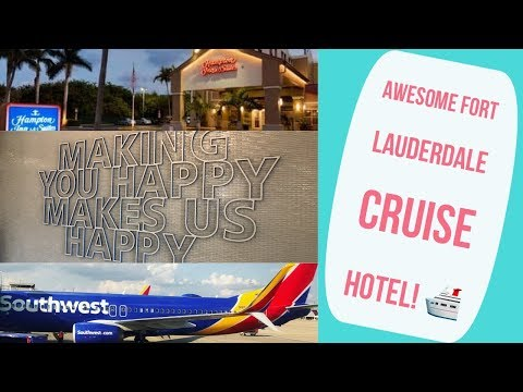 Fort Lauderdale Cruise Port Hotel Review L CRUISE VLOG L Ep. 1
